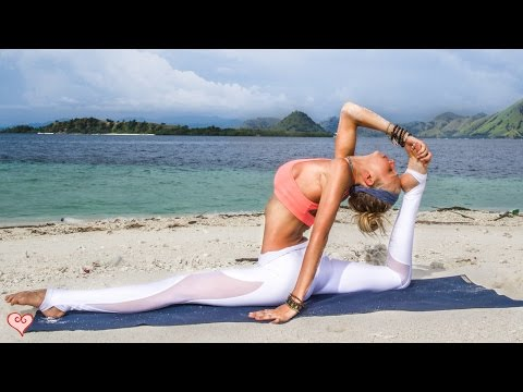 Yoga For Splits ♥ Release Tight Hips & Increase Leg Flexibility