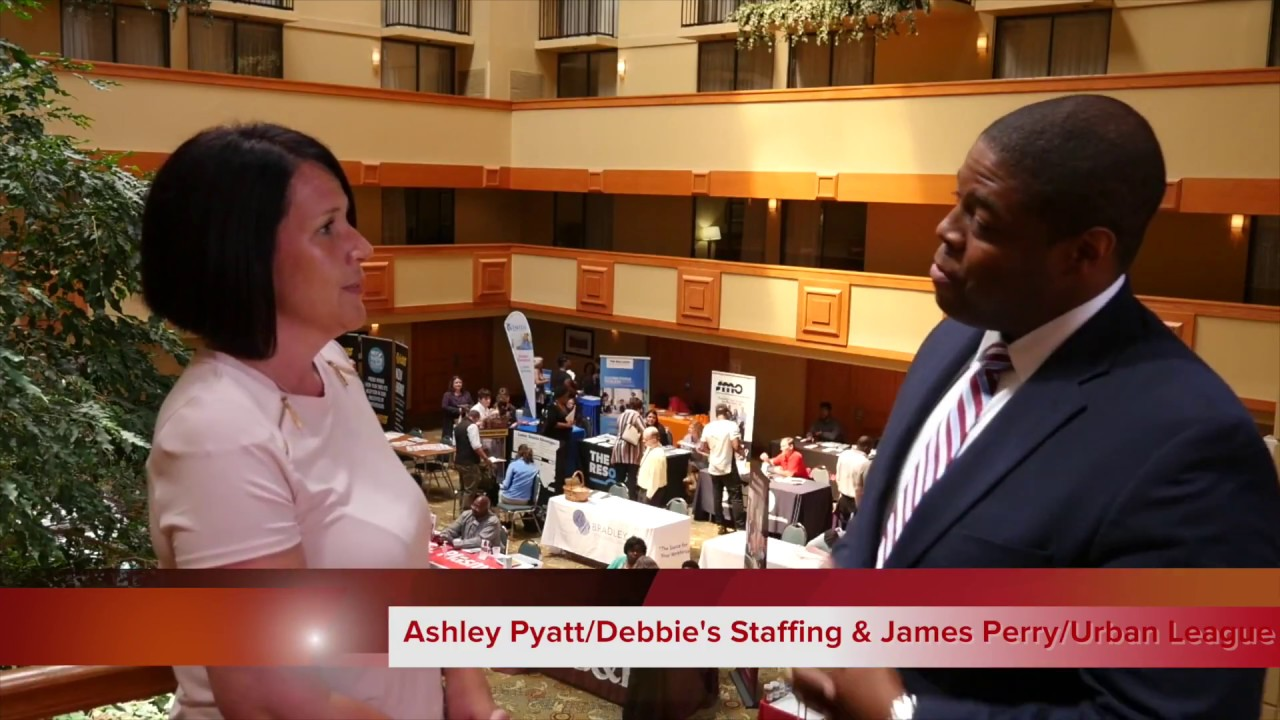 debbies staffing at the winston salem urban league 2017 spring career expo
