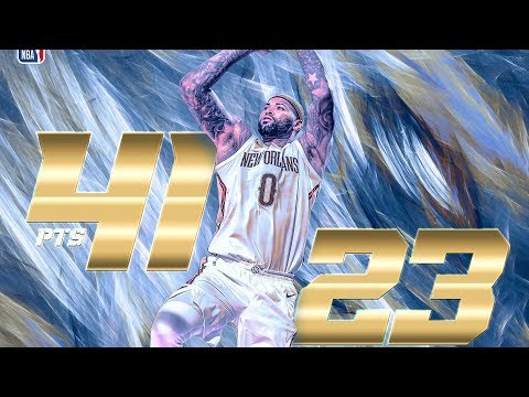 DeMarcus Cousins Returns to Sacramento! 41 Pts 23 Rebs! Pelicans vs Kings 2017-18 Season
