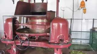 tea leaf rolling machinery