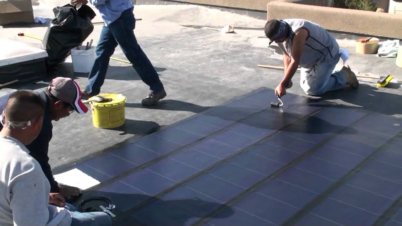 How To Install Laminate Solar Panels Unisolar Youtube