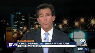 Person hospitalized after getting injured inside Okeeheelee Park