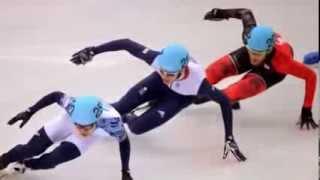Виктор Анн выиграл ещё одну золотую медаль для России!УРА!!!!ШОРТ ТРЕК Сочи 2014
