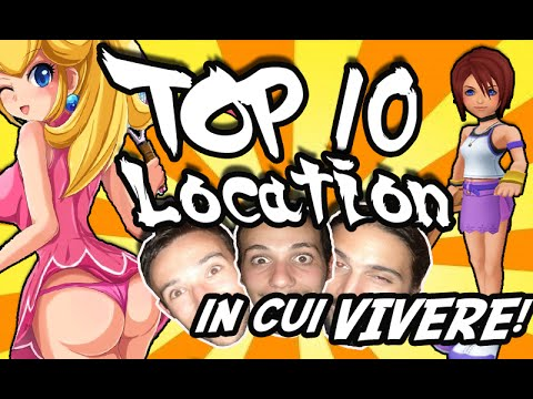 Top 10 Location dei videogames in cui vivere