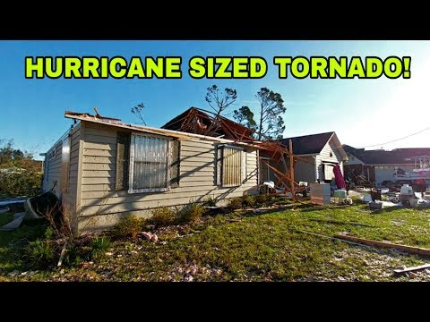 hurricane-that-destroyed-florida's-panhandle!-unreal-damage!