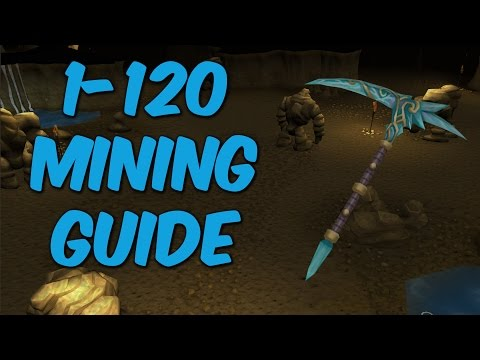 RuneScape 3 Ultimate 1-99 & 1-120 Mining Guide 2015! F2P & P2P Fast & Profitable Methods!