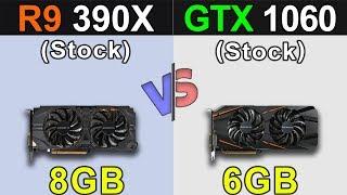 R9 390X VS. GTX 1060 | New Games Benchmarks