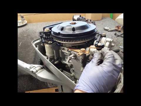 Seized Evinrude 8 HP Outboard; Powerhead Autopsy