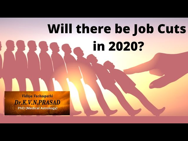 Will there be Job Losses in 2020?