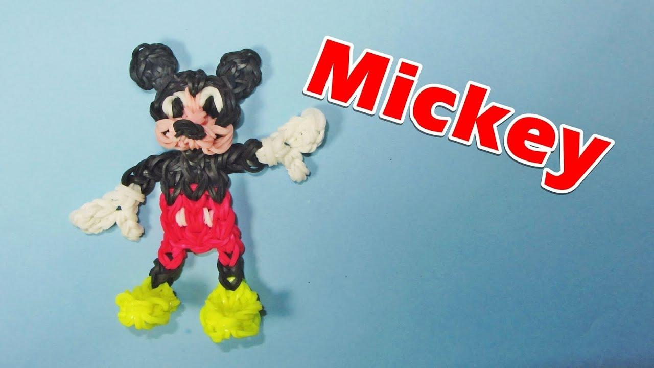 Loom Bands Rainbow Loom Mickey Mouse Charm Disney How