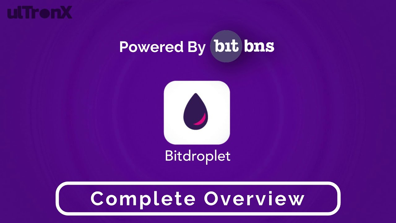 BitDropLet   Systematic Way To Invest In Bitcoin   Powered By BitBNS   Complete Overview