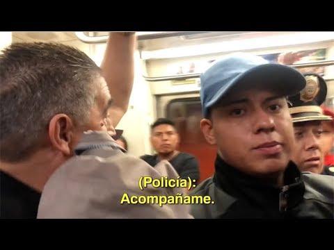 Los Supercívicos: Robo en el metro sin control