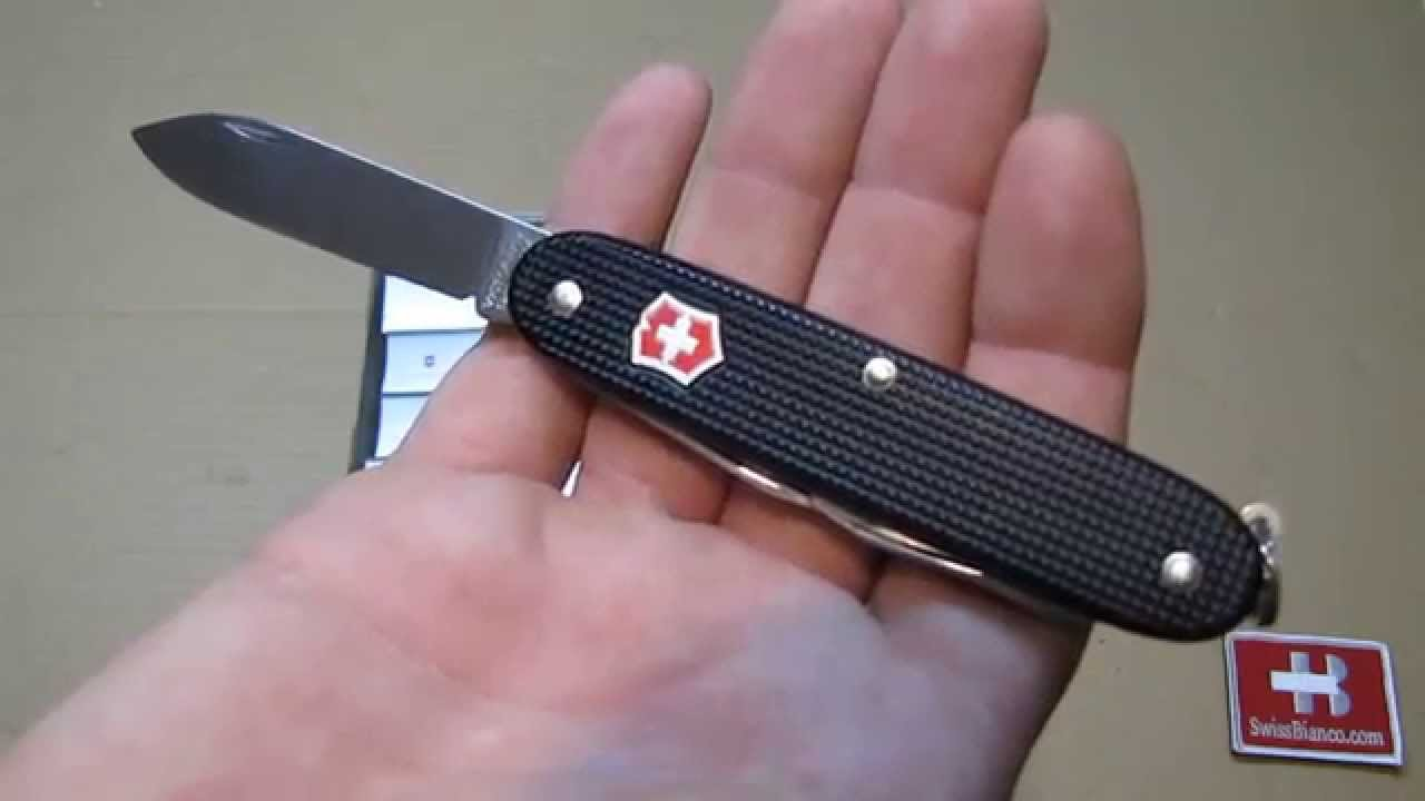 Victorinox Black With Red Silver Shield Swiss Pioneer