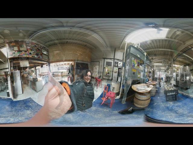 MilyUnaCervezas de recorrido Cerveturistico por Basel en 360
