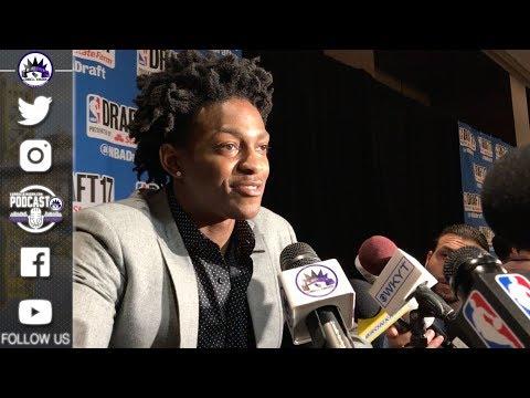 De'Aaron Fox believes he can fit well with Sacramento