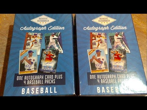 Opening More Mystery Autograph Baseball Card Boxes From