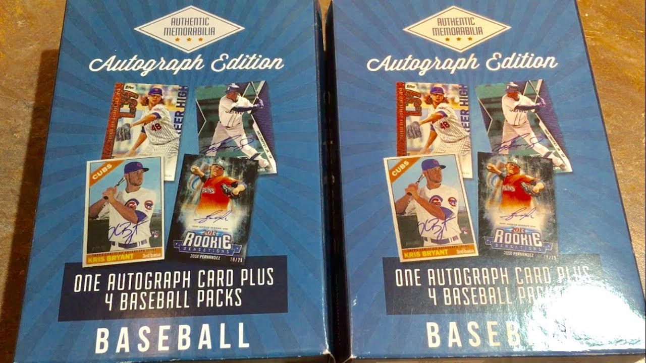 Opening More Mystery Autograph Baseball Card Boxes From Target