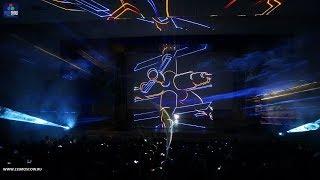 Лазерное шоу в Москве. ДТДиМ имени А.П. Гайдара