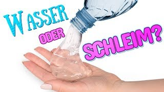 WOW! Unsichtbarer Schleim Ohne Kleber oder Borax  | Schleim-Experimente