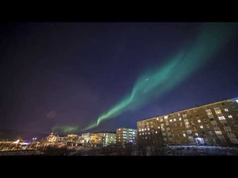 Murmansk Winter Timelapse 4K