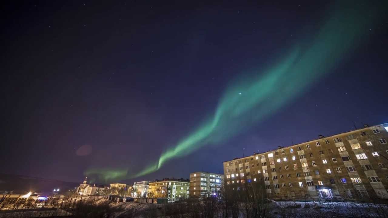 Murmansk Winter Timelapse 4k Youtube