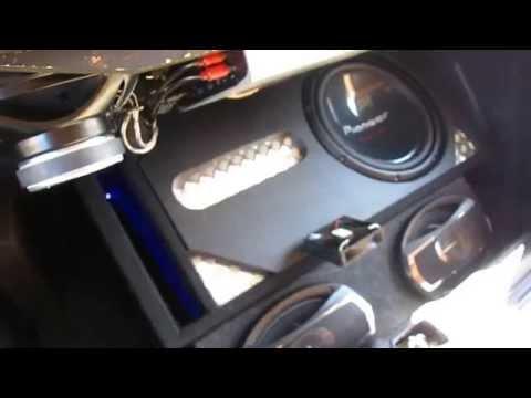 Toyota Tazz Sound System Youtube