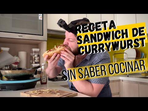Receta Sandwich Currywurst - 365 Sanguchez