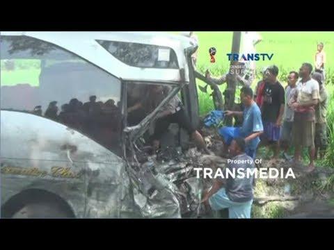 Dramatis Evakuasi Sopir. 3 Bus Tabrakan Beruntun Mp3