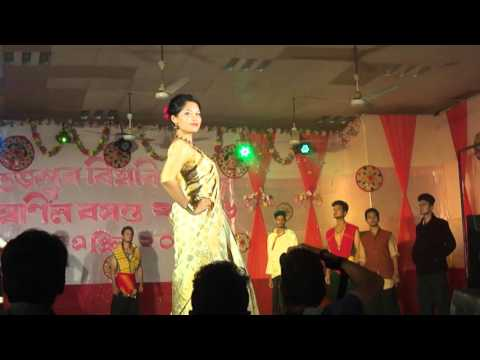 Tezpur University ethnic Show 2016