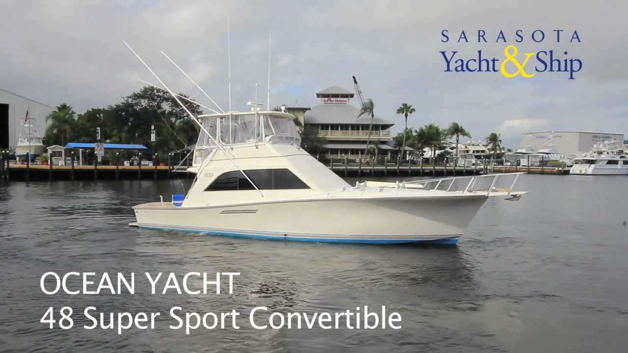 1988 ocean 48 super sport sold sys yacht sales youtube for Ocean yachts 48 motor yacht for sale
