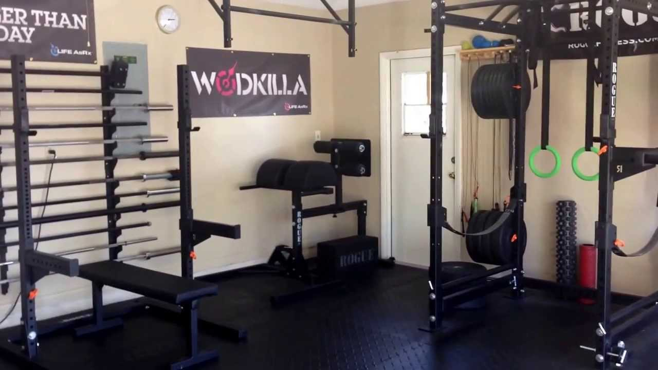 rogue garage gym youtube Home Gym Garage