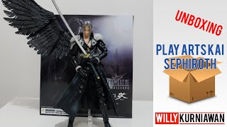 #KoWillVirusMainan #06 : Unboxing Play Arts Kai Sephiroth Final Fantasy VII