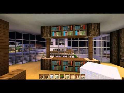 Minecraft how to wohnzimmer einrichten doovi for Minecraft modern einrichten