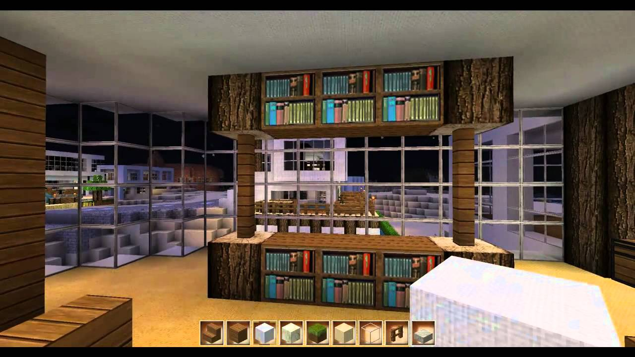 Minecraft Inneneinrichtung Haus 6 - YouTube