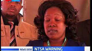 NTSA warns members of the public against boarding over-loaded vehicles