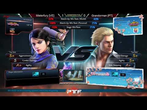 Tekken Rules Crash - Misterfury (Venezuela) vs Grandorman (Portugal)
