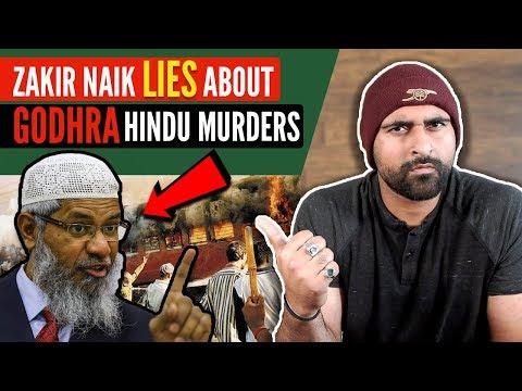 Zakir Naik LIES On Godhra & Gujarat Riots EXPOSED!