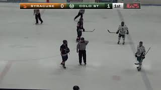 Syracuse Hockey @ Colorado State 1/19/2020