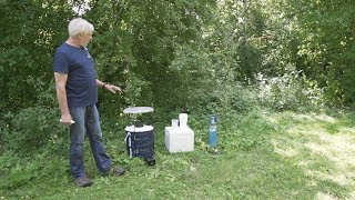 Mosquito Monitoring: Working with the BG-Sentinel with CO2