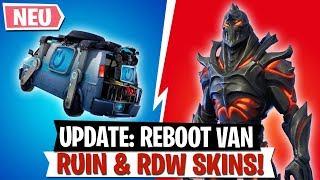 'UPDATE' Reboot Van NOUVEAU Ruine - Skins RDW gratuits (fr) Fortnite Bataille Royale