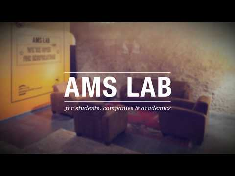 AMS Lab is open for inspiration