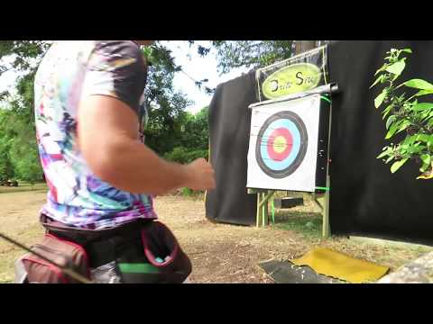 100 yards how to sight in a compound bow for 100 yard