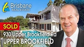 Brisbane Real Estate - 930 Upper Brookfield Road, Upper Brookfield, Brisbane, Queensland 4069