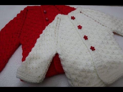 Вязание кофточки спицами реглан для новорожденных