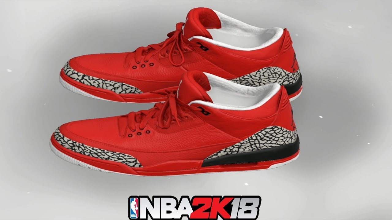 10dfa8891256 NBA 2K18 Shoe Creator ⋆ NBA2K18⋆ Jordan 3 Grateful - YouTube