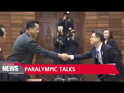 Two Koreas discussing details of North's participation in Paralympics