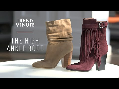 WGSN Trend Minute: The High Ankle Boot