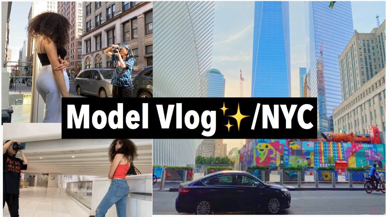 MY FIRST MODEL VLOG | Jalessa?