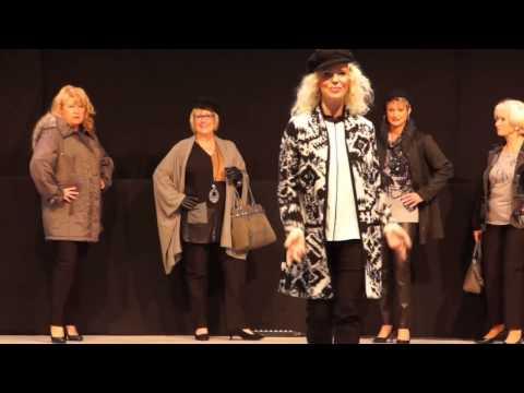 Modenschau Generation 50-plus Senioren