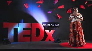 Una abogada con corazón de cocinera | Nelly Córdova Morillo | TEDxAvDeLosRíos